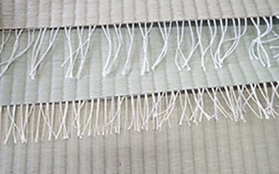 畳表の「たて糸」