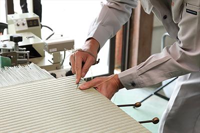 畳を作る「技術」