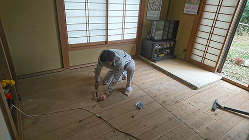 STEP3. 床板点検