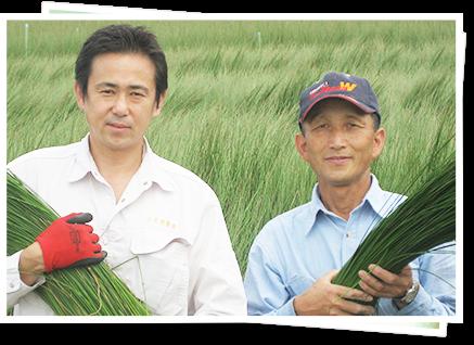当店契約農家の松本吉弘さん